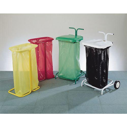 Coloured Code Bin Sacks Green 90L Pack 200