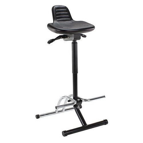 Folding Sit-Stand Stool Height Adjustment 590-850mm