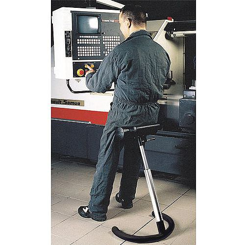 Stand-Up Seat Height Adjustment 730 960mm.