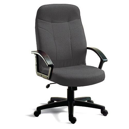 Fabric Executive Office Chair Charcoal