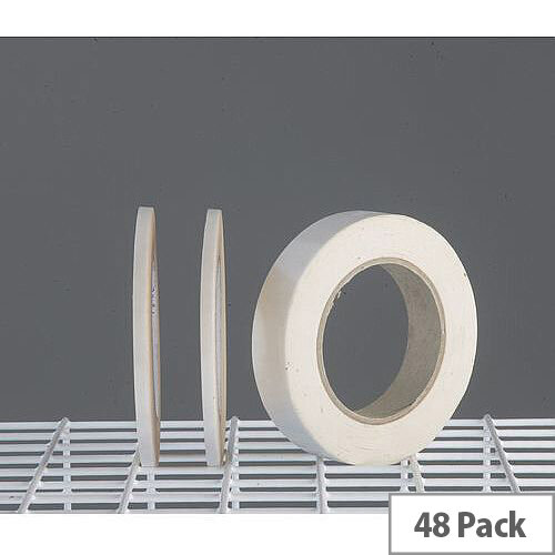 Double Sided Tape Tissue 25Mm Wide Pack Of 48