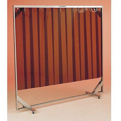 Mobile Welding Screens Bronze Screen