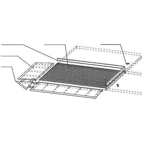 Low Profile Galvanised Sump Flooring Connecting Length H x W x L mm: 30 x 55 x 1350