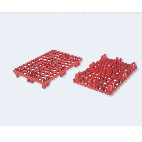 Distribution Pallet 1200mm x 147mm Red Capacity 500kg