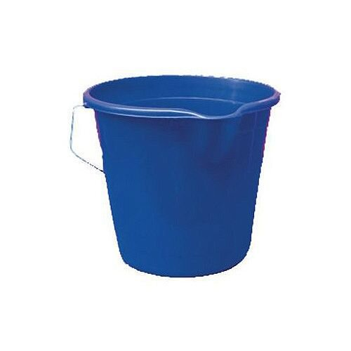 Plastic Bucket Blue Pack of 4