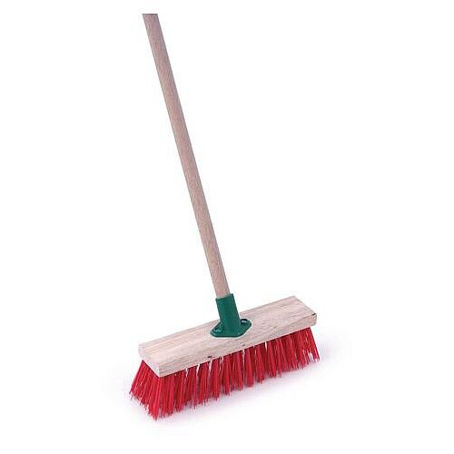Pvc Heavy Duty Brush And Handle 11in