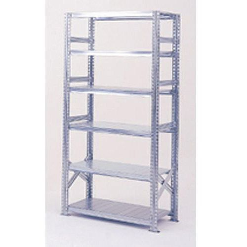 Zinc Plated Boltless Steel Shortspan Shelving Starter Bay HxWxD 2000x900x500mm - 6 Shelf Levels, 185kg Shelf Capacity