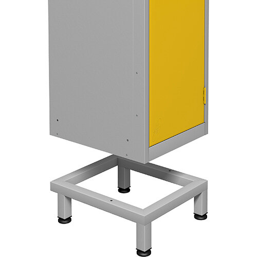 Locker Stand HxWxL 150x915x460mm