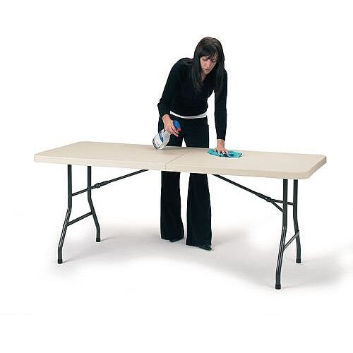Polyfold Fold-In-Half Table 1830 x 760mm