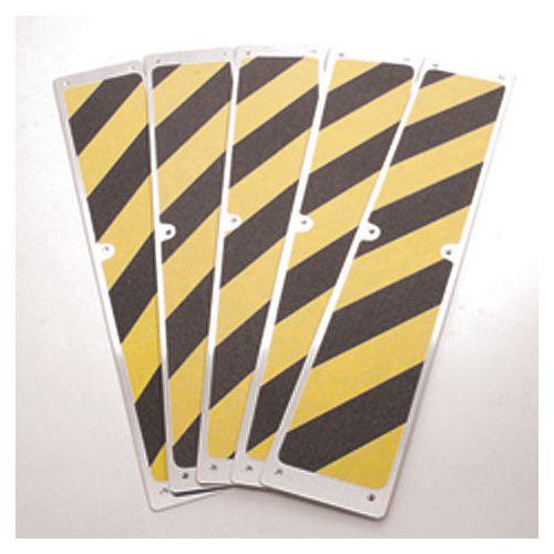 Aluminium Stairtreads Black/Yellow