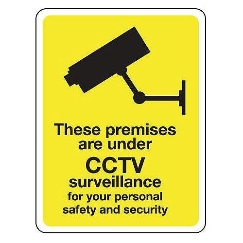 These Premises Are Under Cctv Surveillance Hxw 300X250Mm