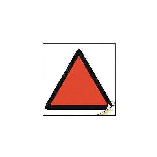 Hand Arm Vibration Safety Labels Red Triangle Strip Of 100