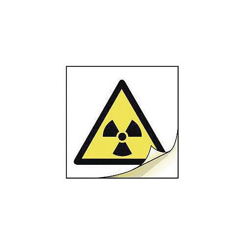 General Safety Labels Radiation Roll of 100