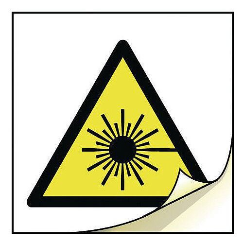 General Safety Labels Laser Roll of 100