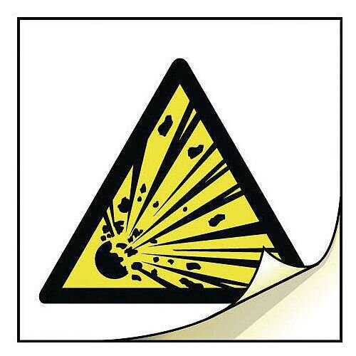 General Safety Labels Explosive Roll of 50