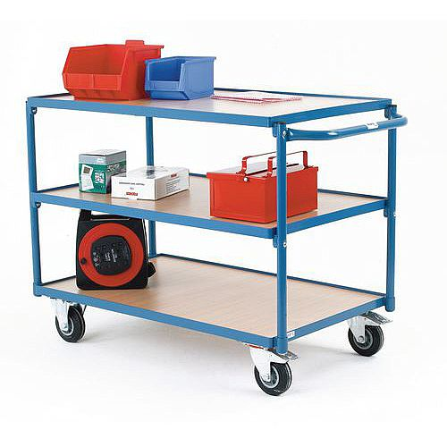 Table Top Carts With 3 Shelves