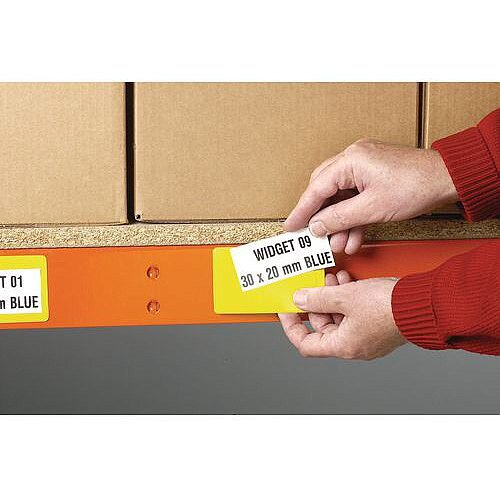 Yellow Ticket Pouches Magnetic 100x30Mm