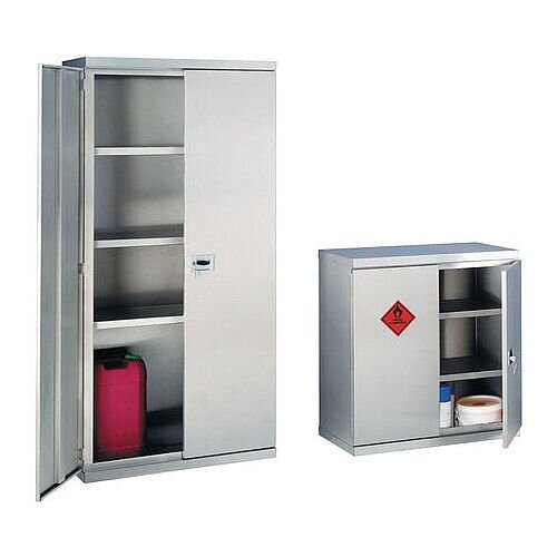 Stainless Steel Hazardous Storage HxWxD 900x880x420mm