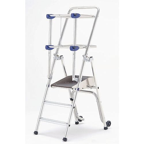 Premium Portable Work Mobile Platforms Height 690Mm