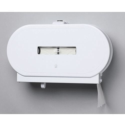 Tork Toilet Tissue Dispenser Mini Jumbo Twin
