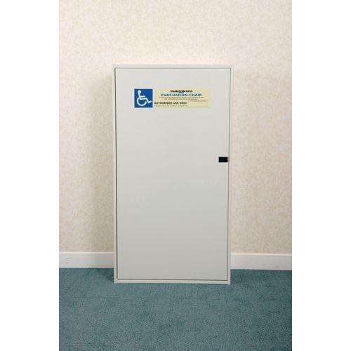 Steel Storage Cabinet For Evacuation Chair Ref 360728