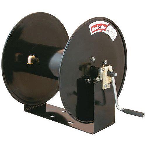 Manual Rewind Powder Coated Steel Compressed Air/Water/Pressure Wash - 82 Metre Long