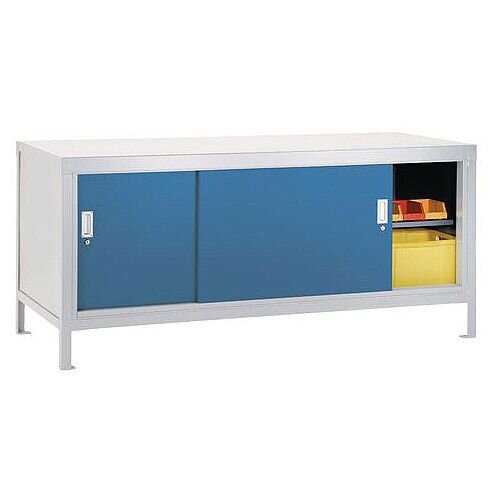 Special Offer Workbench Kit With Sliding Door Cupboard