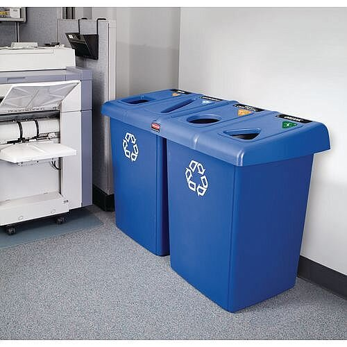 Rubbermaid Recycling Bin Station 348.3L