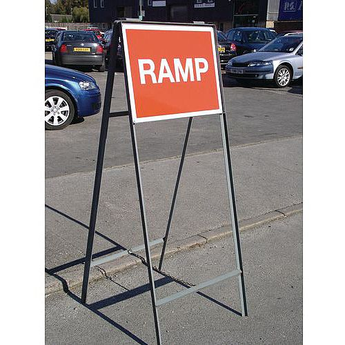 Sign Double Sided Stanchion