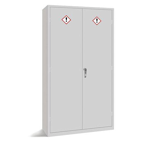 3 Shelf COSHH Cabinet HxWxD mm: 1830x915x457 Grey