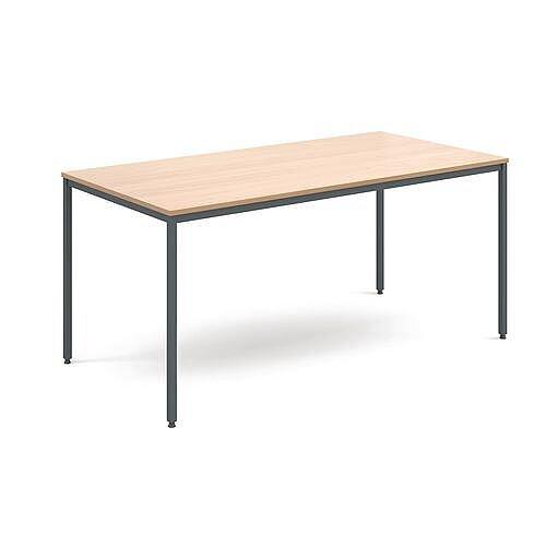 General Purpose Table Beech Rectangular Beech 1600X800X725mm
