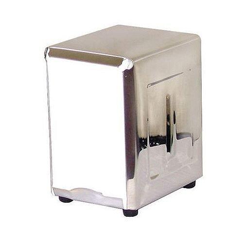 Napkins Dispenser Holders Stainless Steel 140mm High Silver