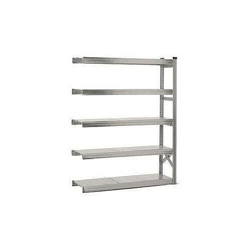 Zinc Plated Steel Shelving Kit Add On Bay