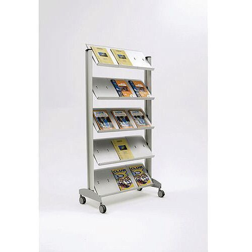 Contemporary Display Stand 15 X A4 Pockets