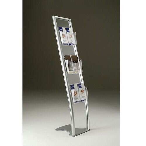 Vision Literature Display Stands 6 DL Size Pockets 1/3 A4