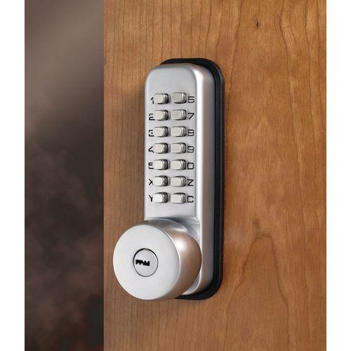 Push Button Mechanical Digital Lock Key Overide Lock