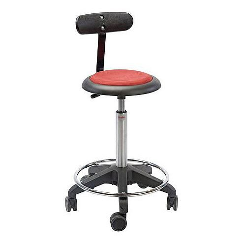 Upholstered Stools Gas Lift Height Adjustment 400-590mm.