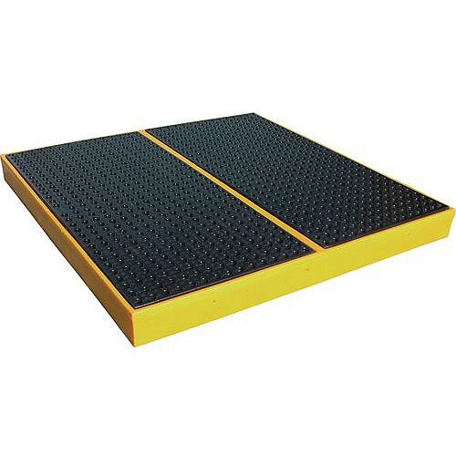Pe Sump Flooring For 4 Drums HxWxD 150x1600x1600mm Capacity 240L