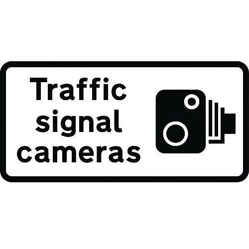 Speed Camera Sign Traffic Signal Cameras Class 1