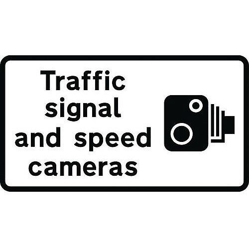 Speed Camera Sign Traffic Signal And Speed Cameras Class 1