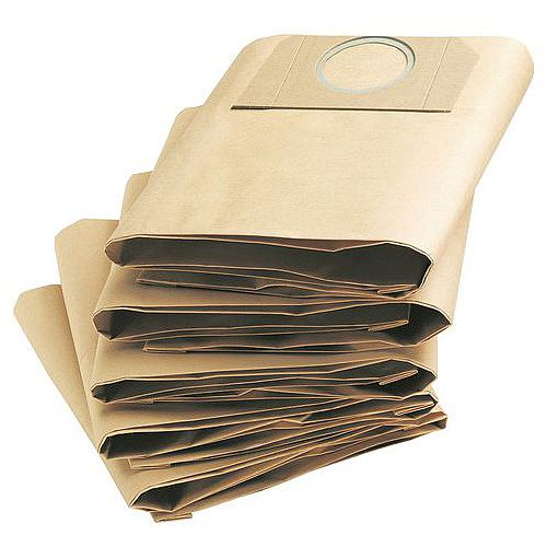 35 Litre Capacity Wet And Dry Vacuum Cleaner Dustbags Pack of 5