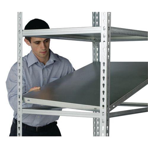 Standard Duty Galvanised Boltless Shelving Additional Shelf WxDmm 1200x300