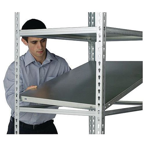 Standard Duty Galvanised Boltless Shelving Additional Shelf WxDmm 1200x600