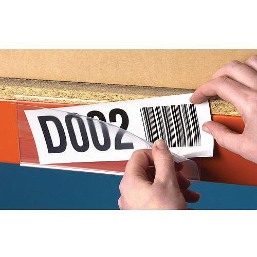 Self Adhesive Ticket Holder HxWmm 38x100 Pack of 100
