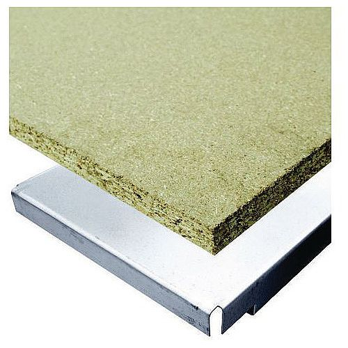 Super Heavy Duty Wide Span Shelving Shelf Level With Chipboard Deck WxD 1850x600mm - 1300kg Capacity