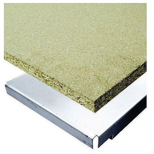 Super Heavy Duty Wide Span Shelving Shelf Level With Chipboard Deck WxD 1850x900mm - 1300kg Capacity