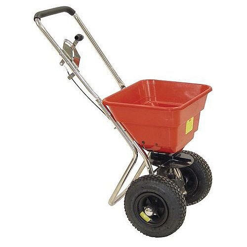 36Kg Contract Salt Spreader with Pneumatic Tyres