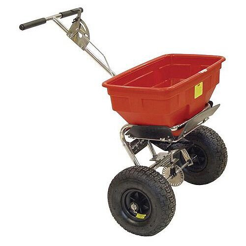 57Kg Contract Salt Spreader with Pneumatic Tyres
