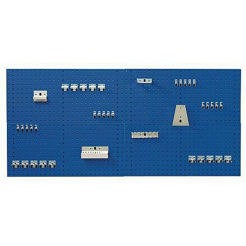 Panel And Hook Kit With 40 Hooks &2 Panels 990x457mm