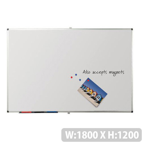 Writeon Magnetic Whiteboard 1200X1800mm